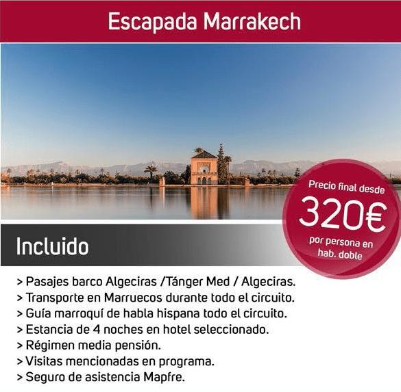 viajar a marrakech desde sevilla
