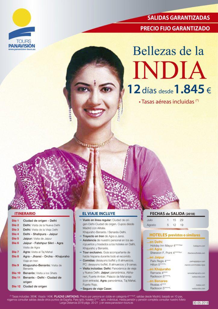 oferta viaje bellezas de la india