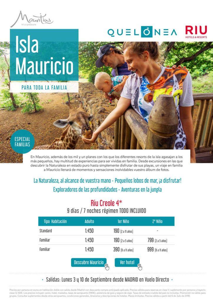 viaje a isla mauricio en familia