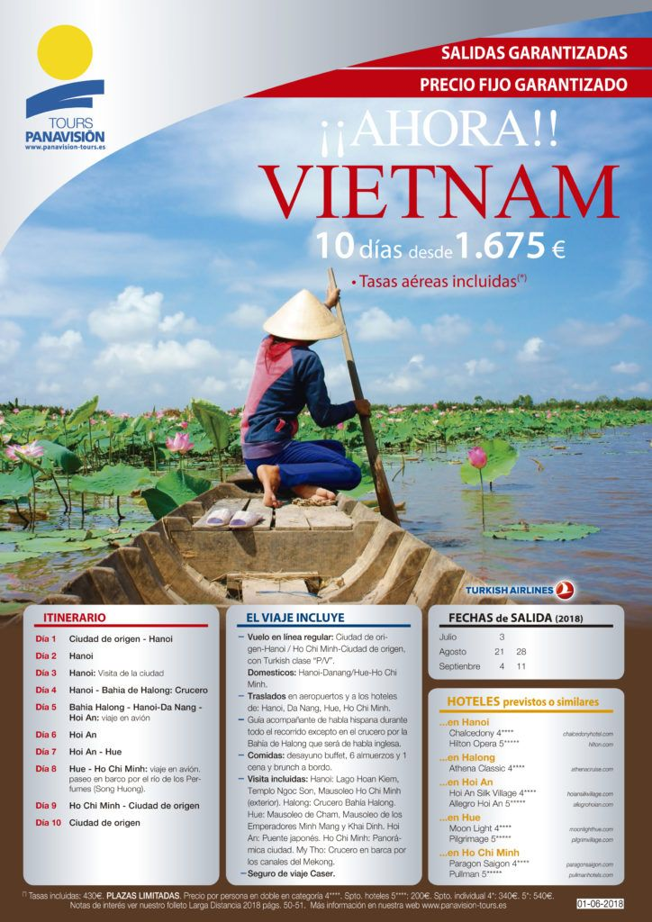 oferta viaje a vietnam viajes fuentes